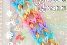 Rainbow loom ideas