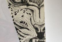 Arte - Ilustración - Dibujo - Acuarela - Creación - / Mavitz
