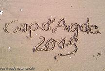 Cap d'Agde Naturiste Strand / Beach