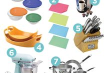 Kitchen items needed