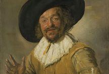 De Gouden Eeuw in De Nederlanden ~ Frans Hals / Tussen 1580 en 1585 Antwerpen (?) - (Begraven) 1 september 1666 Haarlem ~ Leerling van Karel van Mander