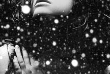 Zimní portréty / Malá inspirace od mých kolegů fotografů :) Nejedná se o moje díla!