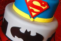 Super hero cakes / by Ashley Nelson