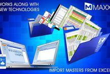 Import Masters from Excel / Microsoft Excel is a widely used generic data tool for data migration between different application.... http://maxxerp.blogspot.in/2013/09/maxx-works-along-with-new-technologies.html