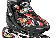 Skating with kids / Don't forget your inline skates while leaving for your summer vacation
