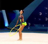 Rhythmic Gymnastics (GIF)
