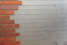 PreWall uitvoering - 3 plakken steenstrips / PreWall uitvoering - 3 plakken steenstrips
