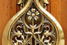 Knockers for doors