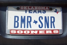 Sooner Plates / Sooner Nation! / by Oklahoma Sooners