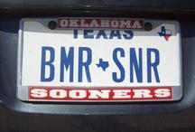 Sooner Plates / Sooner Nation!