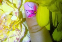 my work / Pictures of nails, treatments by me and treatment room