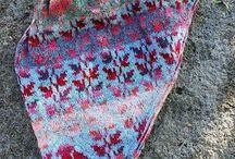 Knit colour work /żakardy
