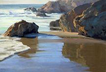 art sea landscapes
