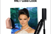 """Get Katie Holmes' """"Pretty in Punk"""" MET Gala Look  / At last night's MET Gala, our Pretty Powerful spokesperson Katie Holmes rocked a smoky eye and nude lip look created by celebrity makeup artist Genevieve Herr for Bobbi Brown Cosmetics. Here's how you can recreate it at home…"""
