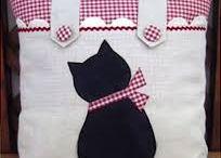 猫クッション
