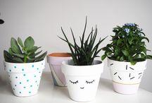 customisation pot de fleurs