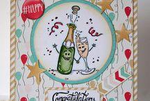 Scrapbooking - Cartes Félicitations
