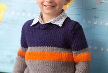 Boys knitting pattern