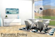 sims 4 dining table