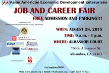 Job and Career Fair (Free) / Job and Career fair being hosted by the Asian American Economic Development Enterprises
