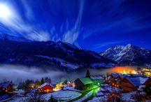 Winter im Kleinwalsertal / Schnee soweit das Auge reicht