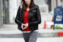 Emily Blunt Los Angeles Studio Black Jacket