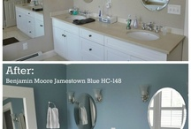 Upstairs bath / by Marlise Happy