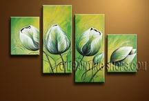 Posliininmaalaus: muut kukat 2