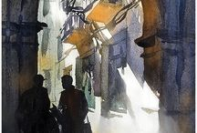 Art Aquarelle Thomas Schaller / Aquarelle  Watercolour
