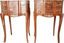 Vintage Furniture on Ruby Lane / Fabulous vintage furniture from the shops of Ruby Lane . #vintage #furniture #rubylane #Countrydecor #FrenchProvencial #EnglishCountry #Americana #Federal #Williamsburg #ArtsandCrafts