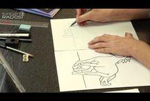 kreslenie pravou hemisférou