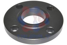 Slip On Flanges / The calculated strength from Slip On flanges under internal pressure is 2/3, and their life under fatigue is about 1/3, that of Welding Neck Flanges.The connection with the pipe is done with two fillet welds. After sliding the flange on the pipe, the distance inside the flange between the end of pipe and the flange face should be: Wall thickness of pipe + 3 mm. This space is necessary to prevent damage to flange face during the welding process. http://www.trupply.com/collections/slip-on