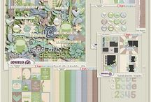 {Toad-ally Adorable} Digital Scrapbook Collection by Aprilisa Designs