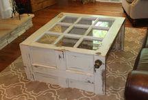 Wooden furniture ideas