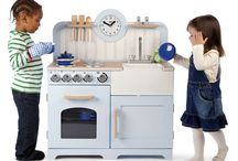 Cooking and Baking.... / A stylish kitchen range for children