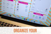 Computer desktop organizing 2017
