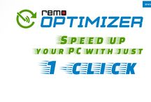 Remo Optimizer / Remo Optimizer is a software that help you to speed up your PC. Its a Simpler, Faster and Secure way of optimizing PC : www.remosoftware.com/remo-optimizer