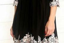 Малень черное платье