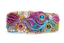 other, Bracelets, Bead Embroidery