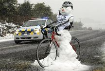 Winter Biking / For those who won't be stopped by the winter snow :)