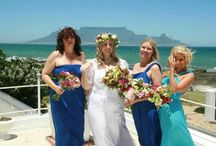 My Wedding / Highlights of my Wedding - a Concert, an Art Gallery Exhibition, Vegetable and Flower Garden for Charity, Handpainted backdrop for Capetown, Snacks, Lunch .....