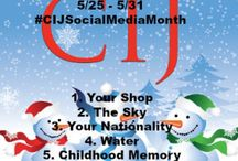 #CIJSocialMediaMonth 7 Day Pinterest Challenge / Thank you to everyone who is participating in the #CIJSocialMediaMonth 7 Day Pinterest Challenge.