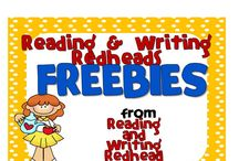 Freebies from Reading and Writing Redhead / Freebies from Reading and Writing Redhead's TPT, TN, Buysellteach, EPals Tools for School stores and more!