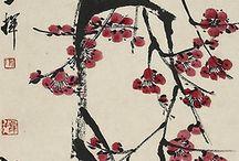 japán festmények