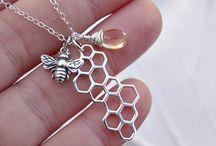 1 bee or 2B / Honey bee related.