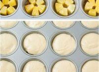 Pineapple upside down cakes.