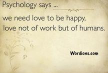 Wordions : Psychology says
