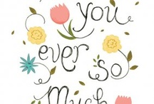 Wishes / Saying THANK YOU is inspiring as also wishing another person a NICE DAY