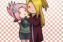 Sakura x Akatsuki love