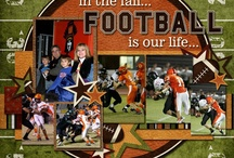 Football pages / by Amber Sturgeon